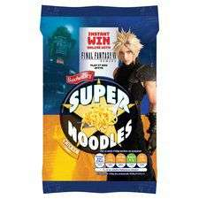 Bachelors super noodles chicken/BBQ/curry/bacon/Southern fried/chow mein 90g 50p @ tesco