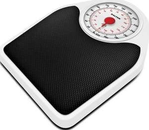 Salter Doctor Style Mechanical Bathroom Scales – Retro White + 15 Year Warranty - £15 Prime /+£4.49 Non Prime @ Amazon