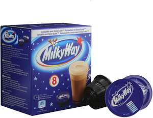 Dolce Gusto hot chocolate pods Mars or Milky Way 8 pods 136g - 99p @ ALDI Tottenham