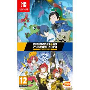 Digimon cyber sleuth complete edition Nintendo Switch £32.95 @ thegamecollection