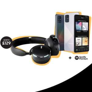 Claim AKG Y500 +6 months spotify premium on selected Samsung Galaxy A Series