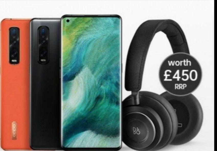 OPPO Find X2 Pro 5G 512GB Smartphone + B&O H9 Headphones - £851 @ O2 Refresh