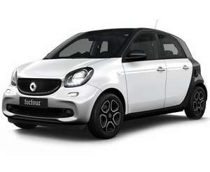 SMART Fourfour full electric lease. 24m 5k miles pa, £141.60 x 23mths, £849.60 deposit, £180 fee - total £4286.40 at Central Vehicle Leasing
