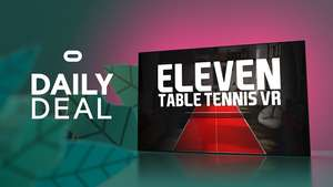Oculus Quest - Eleven Table Tennis - down to £9.99