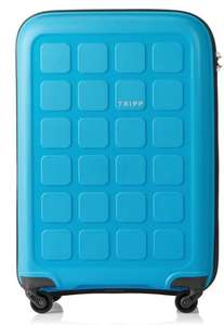 Tripp up to 50% off - good selection of suitcases e.g. Tripp Turquoise 'Holiday 6' Medium 4 Wheel Suitcase £39