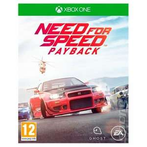 Need for speed payback Xbox one £5 @ asda