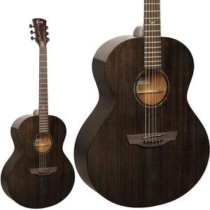 Faith Nexus Neptune Acoustic Guitar - Solid Mahogany / Fishman Electronics + Gigbag - £399 With Free Next Day Delivery @ GuitarGuitar