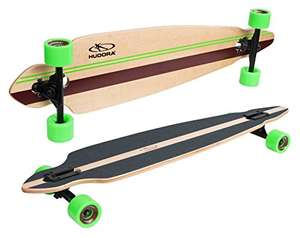 "Hudora Kids' Rockpile Longboard, Green/Grey, One Size 39"" - £36.99 Dispatches from Amazon Sold by Mytoyfactory"
