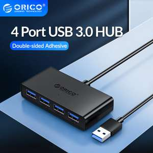 ORICO 4 Port USB 3.0 HUB £4.96 Delivered @ AliExpress Deals / Orico Official Store