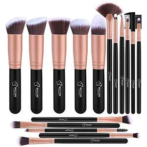 Makeup Brush Set Professional 16-Piece Make Up Brushes £7.64 Sold by SPENG INC and Fulfilled by Amazon