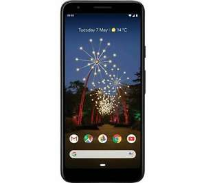 GOOGLE Pixel 3a - 64 GB Android Mobile Smart Phone Just Black £289 at Currys ebay