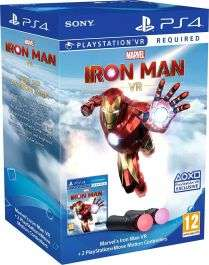 Marvels Iron Man VR PlayStation Move Controller Bundle - £89.99 Delivered @ Shopplay