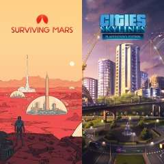 [PS4] Cities: Skylines + Surviving Mars Pack - £8.85 (Using Shopto) - PlayStation Store
