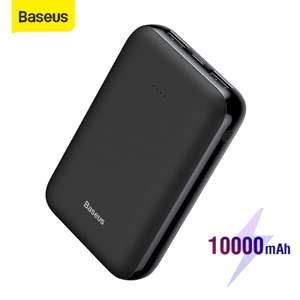 Baseus Mini 10000mAh Dual USB power bank charger for £12.06 delivered @ AliExpress Deals / Baseus Factory Store
