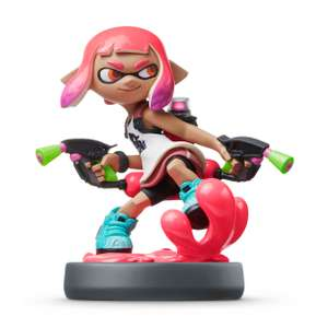 Inkling Girl (Neon Pink) /Inkling Boy (Lime Green) amiibo (Splatoon Collection) - £10.99 / £12.98 delivered @ Nintendo Official UK Store