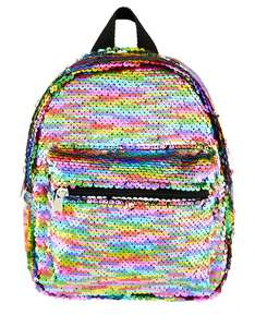 Rainbow Sequin Backpack £5.40 + £2 Delivery ( Free over £30 ) Extra 10% off with Unidays (£4.86) From Accessorize