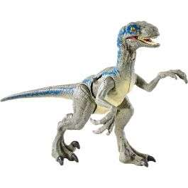 Jurassic World Battle Damage Velociraptor Blue £12.49 with Free Delivery From Bargain Max