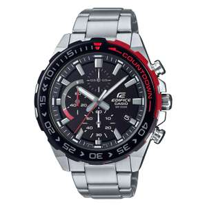 Casio Edifice Countdown Men's Stainless Steel Bracelet Watch £76 @ H Samuel