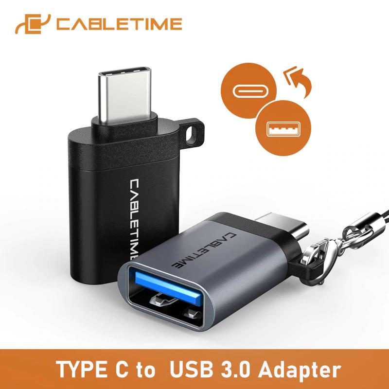 CABLEIME Type C OTG Adapter USB3.0 96p @ AliExpress
