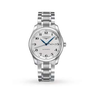 Longines Master Collection Mens watch £825 @ Goldsmiths using price match promise.