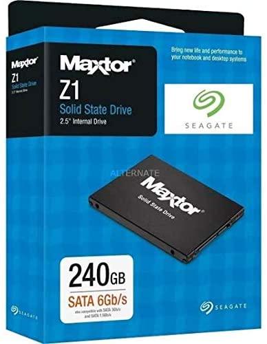SEAGATE Maxtor Z1 240 GB Solid State Drive SATA 6 Gb/s 2.5 Inches Black £25.98 delivered @ Amazon