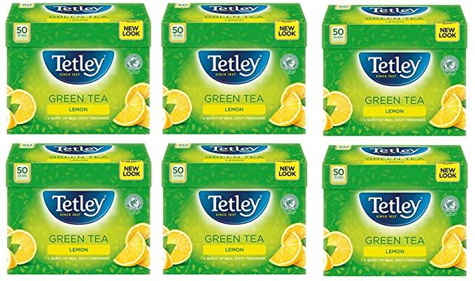 Tetley lemon green tea - £7.50 (+£4.49 non-Prime) @ Amazon
