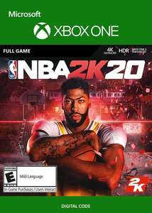 NBA 2K20 [Xbox One] £3.04 @ Eneba using code