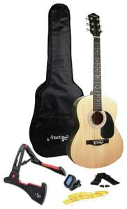 Martin Smith Full Size Acoustic Guitar and Accessories £60 at Argos - free Click & Collect