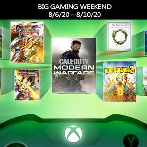 Xbox Big Gaming Weekend - Xbox / PC Multiplayer FREE all weekend - Gears 5, Monster Hunter World, Ark: Survival Evolved, Black Desert + MORE
