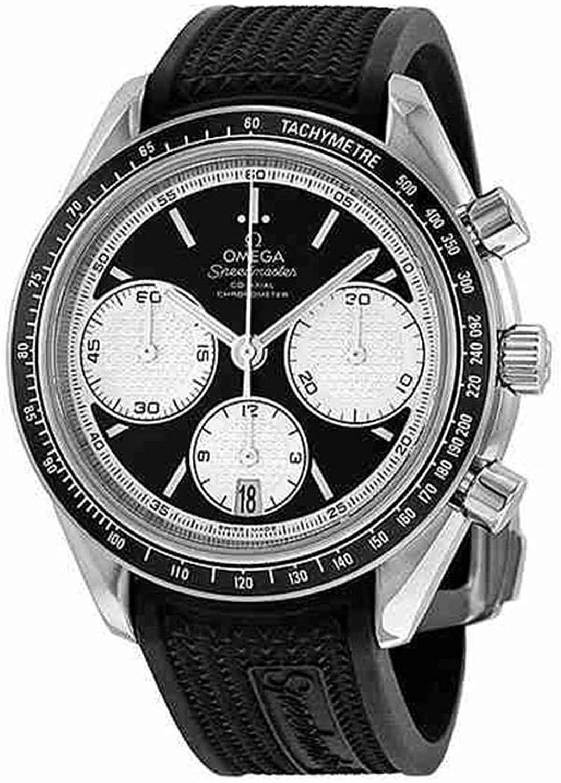 Omega Speedmaster Racing Men's Black Rubber Strap Watch 40mm £3120 / £2808 with 10% newsletter discount at Ernest Jones
