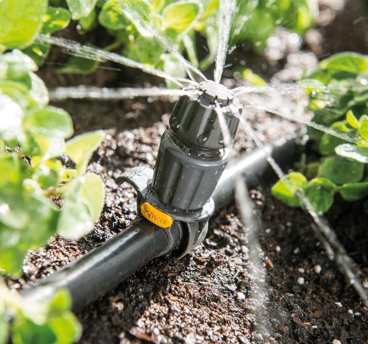 Hozelock Irrigation Sale - Universal Dripper (10 pack) or Pressure Regulator £5 / T-Piece 5 pack) £2 / Micro Dripper (10 pack) £3 @ Homebase
