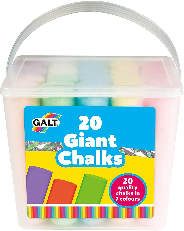Galt Toys 20 Giant Chalks £3.99 prime / £8.48 non prime @ Amazon