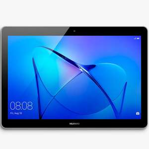 "Huawei MediaPad T3 10 Tablet, Android, Qualcomm MSM8917, 2GB RAM, 16GB eMMC, 9.6"", Grey £109.99 at John Lewis & Partners - 2 year guarantee"