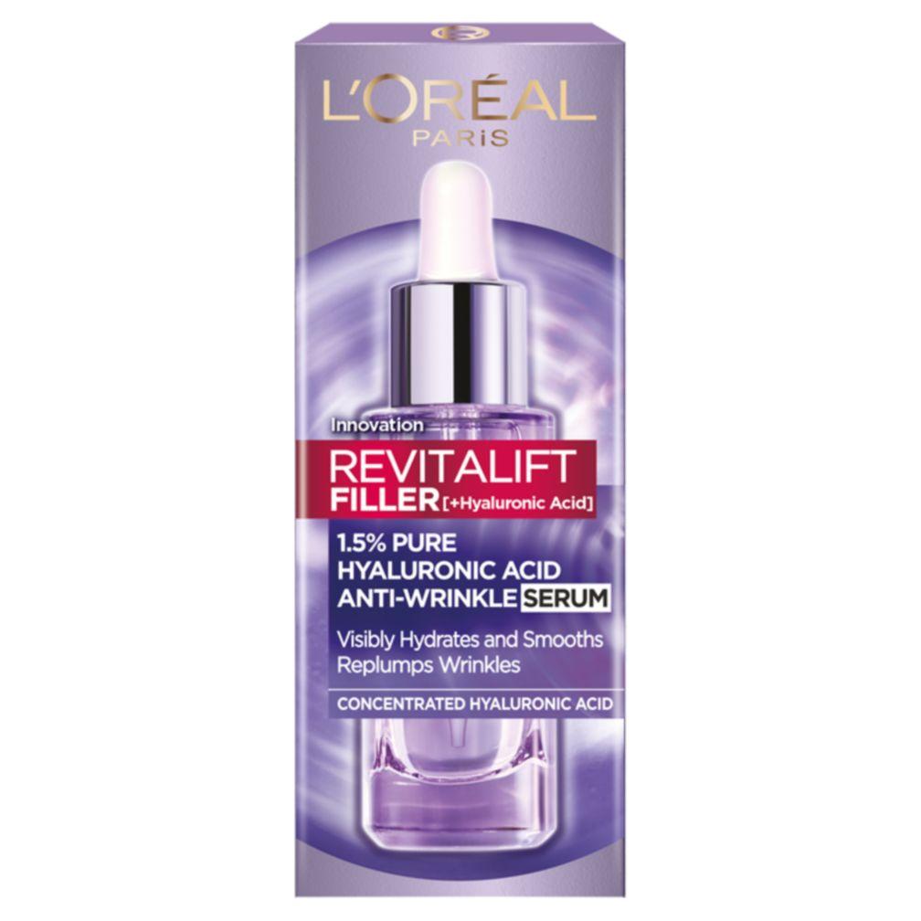 TWO Loreal Paris hyaluronic revitalift filler serums 30ml + Free Nivea face mask £22 Free C&C @ Boots