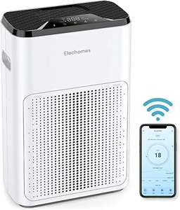Elechomes Smart WiFi Air Purifier with True HEPA Filter, Work with Alexa, Android, iOS £89.99 Dispatches fromAmazon Sold by TSMARTTSMART