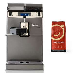 Saeco Lirika One Touch Bean to Cup Coffee Machine + Free 250g Bag of Caprissimo Belgique Coffee Beans - £370 @ The Coffee Mate