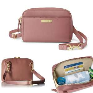 Greenwich Convertible Hip Pack Changing Bag - Dusty Rose - £17.90 Delivered @ Online4Baby