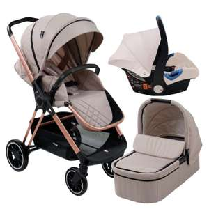 My Babiie MB250 Cristina Millan Pushchair - Rose Gold £399.99 @ Argos + free Click and Collect