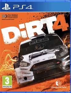 Dirt 4 £4.99 with PS PLUS @ PlayStation store