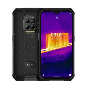 """Ulefone Armor 9 Thermal Imaging 6.3"""" Rugged 8/128Gb Android 10 Helio P90 64MP 3.5mm Endoscope - £376.51 @ AliExpress/ULEFONE Official Store"""