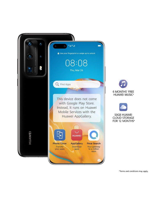 "Huawei P40 Pro+ Smartphone, 8GB RAM, 6.58"", 5G LTE, SIM Free, 512GB, Black Ceramic - £399.95 delivered @ John Lewis & Partners"