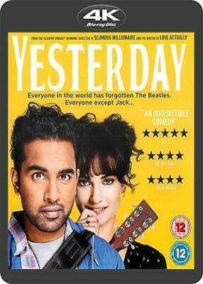 Yesterday (2019) 4K Blu-ray ex rental - £4 delivered @ cinemadiso / eBay