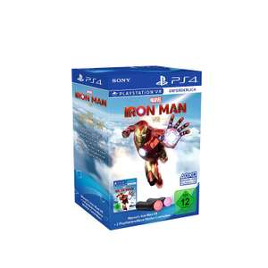 Marvel's Iron Man VR + Move Motion-Controller - Twin Pack Bundle £96.50 at Amazon Germany