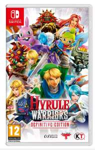 Hyrule Warriors Definitive Edition Nintendo Switch Game - £28.99 @ Argos (Free Click & Collect)