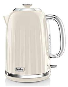 Breville Impressions Electric Kettle, 1.7 Litre, 3 KW Fast Boil, Cream, White or Black - £24 delivered @ Amazon
