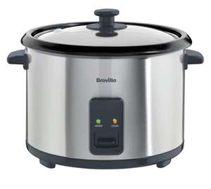 Breville ITP181 1.8L Rice Cooker and Steamer - St/Steel £21.99 @ Argos