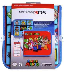 Universal Super Mario 2DS/3DS XL Folio Case - £3.99 + Free Click and Collect @ Argos