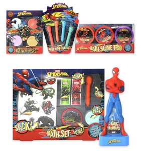 Spiderman Bath Set or Spiderman Slime Bath Set for £4.99 @ Argos (free click and collect)