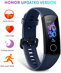 HONOR Band 5 Fitness Trackers Activity Spo2 Waterproof 50M - £20.93 @ Sold By CompAcy Fulfilled By Amazon