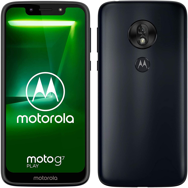 Motorola Moto G7 Play 32Gb Mobile Phone sim free - Indigo for £89.95 at Argos